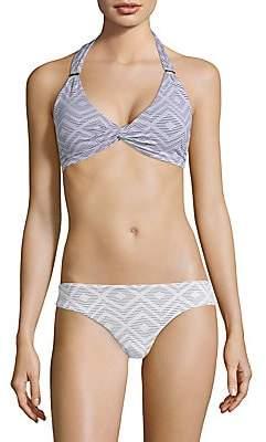 Melissa Odabash Women's Africa Halter Bikini Top