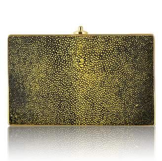 Judith Leiber Couture Metallic Stingray Clutch