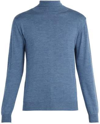 Oliver Spencer Merino wool roll-neck sweater