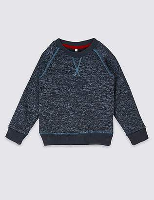 Marks and Spencer Borg Sweatshirt (3 Months - 7 Years)