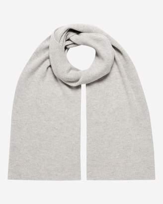 51b87ec4c2f Grey Ribbed Scarf Mens - ShopStyle UK