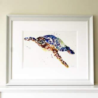 Luna Harrison Sea Turtle Blue