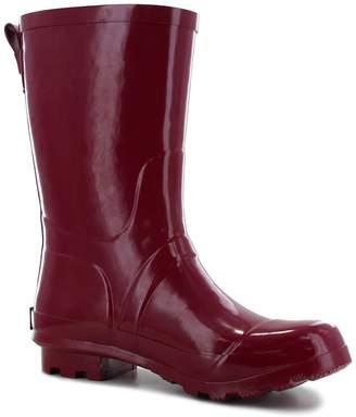 Western Chief Classic Mid Sangria Rain Boot