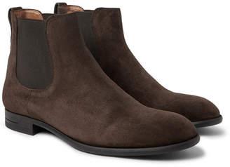 Ermenegildo Zegna Suede Chelsea Boots