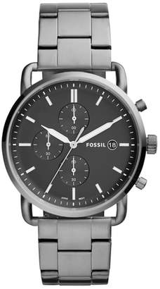 Fossil The Commuter Chronograph Bracelet Watch, 42mm