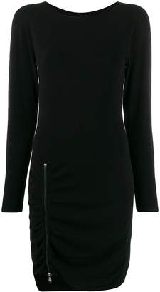 Twin-Set short zipped dress