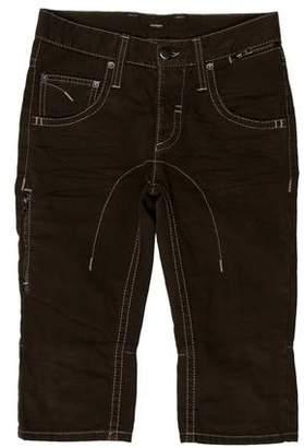Neil Barrett Cropped Mid-Rise Pants
