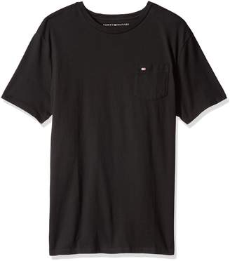 Tommy Hilfiger Men's Crew Neck T-Shirt with Beach Pocket