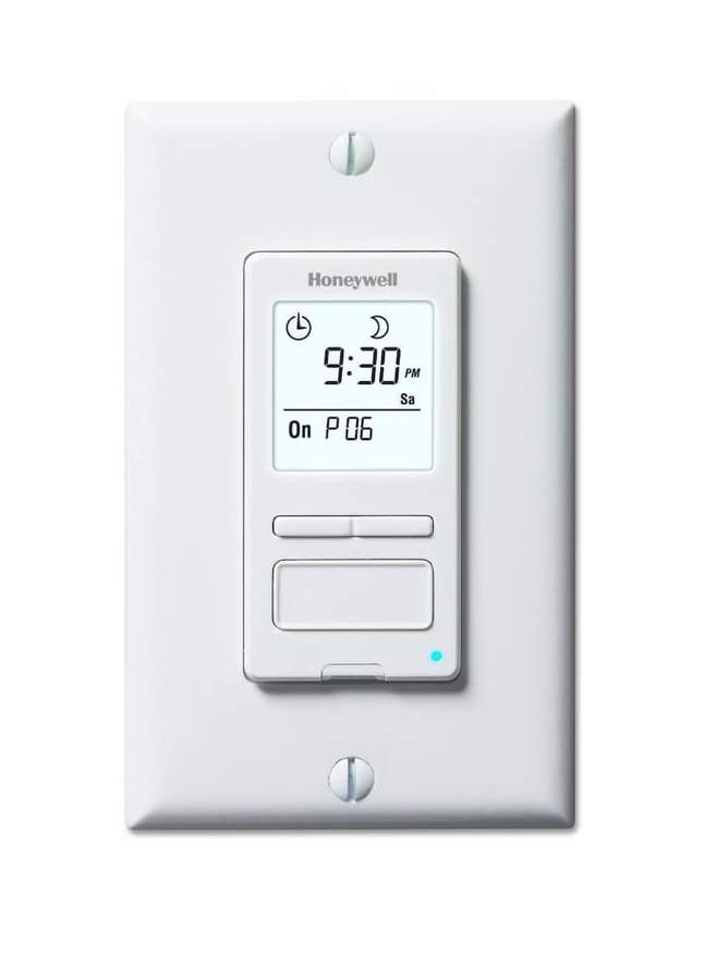 Honeywell ECONOSwitch Solar Programmable Light Switch Timer