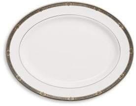 Lenox Vintage Jewel Patterned Oval Platter