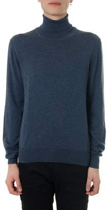 Maison Margiela Avio Cotton-wool Blend Turtle Neck Sweater