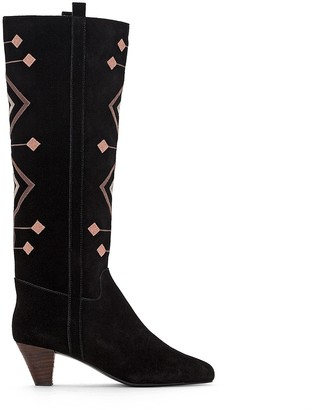 La Redoute COLLECTIONS Folk Style Leather Boots