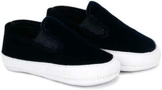 Pépé contrast crib shoes