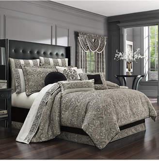 J Queen New York Chancellor 4-Pc. Queen Comforter Set Bedding