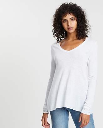 American Vintage V-Neck Melange T-Shirt