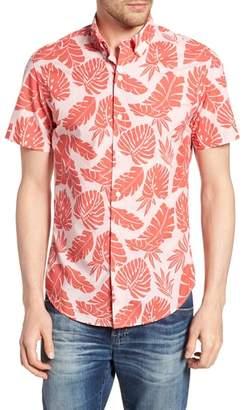Bonobos Riviera Slim Fit Palm Print Sport Shirt