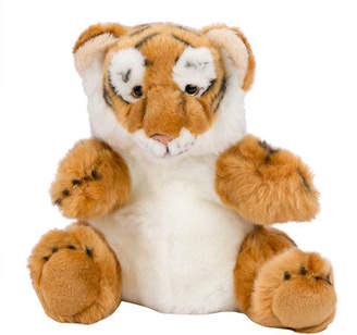 NEW National Geographic Hand Puppet Tiger