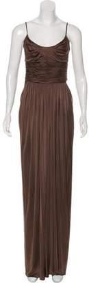 Oscar de la Renta Silk Sleeveless Dress