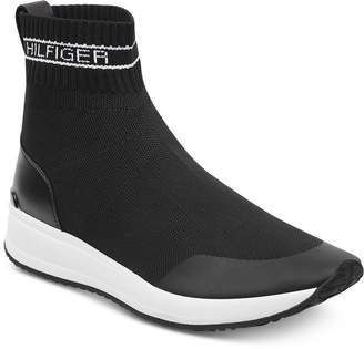 Tommy Hilfiger Reco Slip-On Sock Sneakers Women's Shoes