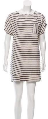 Steven Alan Striped Shirt Dress