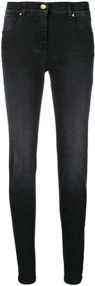 Class Roberto Cavalli embellished logo skinny jeans