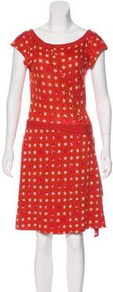 Marc by Marc Jacobs Printed Knit Dress