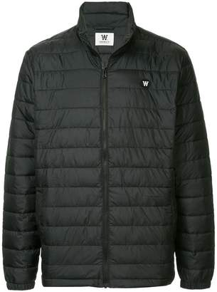 Wood Wood padded high neck jacket
