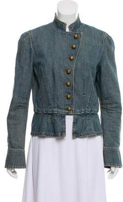 Marc Jacobs Denim Fitted Jacket