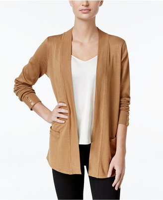 Charter Club Open-Front Cardigan, Only at Macy's $69.50 thestylecure.com