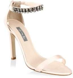 Sarah Jessica Parker Zaida Detailed Satin Stilettos