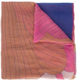 A Peace Treaty floral print scarf