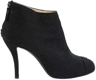 Chanel Cloth ankle boots