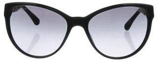 Chanel Butterfly Chain-Link Sunglasses