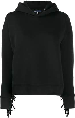 Levi's Made & Crafted fringe detail hoodie
