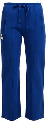 Etoile Isabel Marant Dobbs Straight Leg Track Pants - Womens - Blue