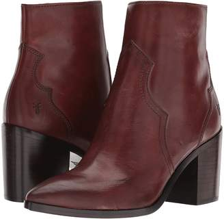 ... Frye Flynn Short Inside Zip Women's Boots