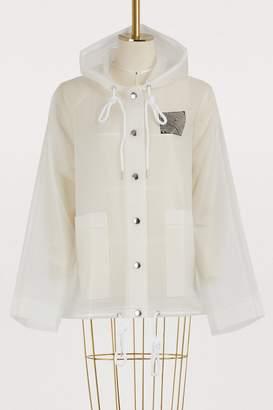 Proenza Schouler Transparent raincoat