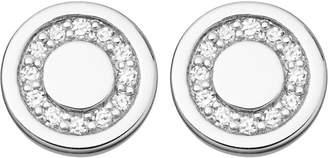 Astley Clarke Mini Cosmos sterling silver and diamond stud earrings