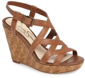 Women's Jessica Simpson Jazlin Wedge Sandal $78.95 thestylecure.com