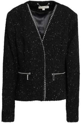 MICHAEL Michael Kors Chain-Trimmed Bouclé-Tweed Mini Skirt