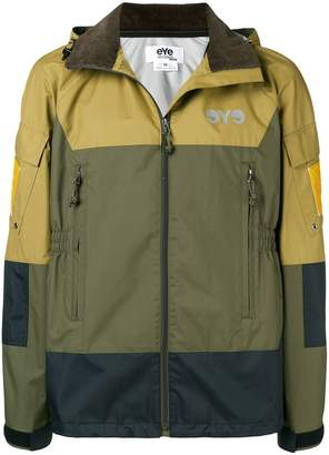 Junya Watanabe colour-block hooded parka
