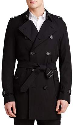 Burberry Heritage Kensington Mid-Length Trench Coat