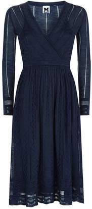 M Missoni Zig Zag Textured Dress