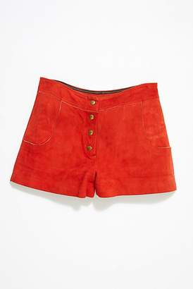 Vintage Loves Vintage 1960s Suede Shorts