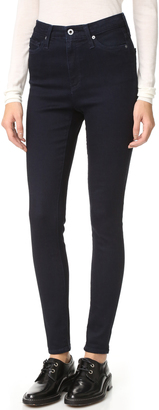AG The Mila High Rise Skinny Jeans $188 thestylecure.com