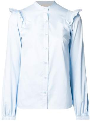 Michael Kors frill sleeve shirt