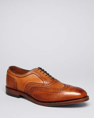 Allen Edmonds McAllister Wingtip Oxfords $395 thestylecure.com
