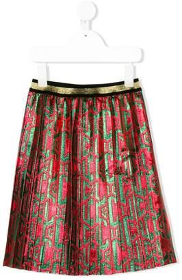 Gucci Kids pleated skirt