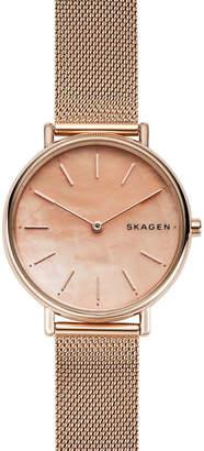 Skagen Signatur Women Rose Gold Stainless Steel Watch SKW2732