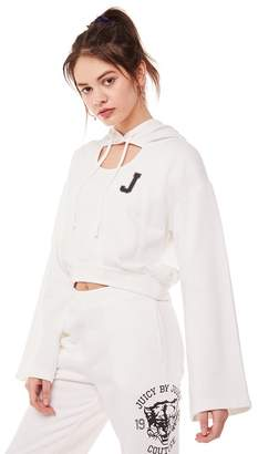 Juicy Couture Jxjc Wildcat Fleece Logo Pullover